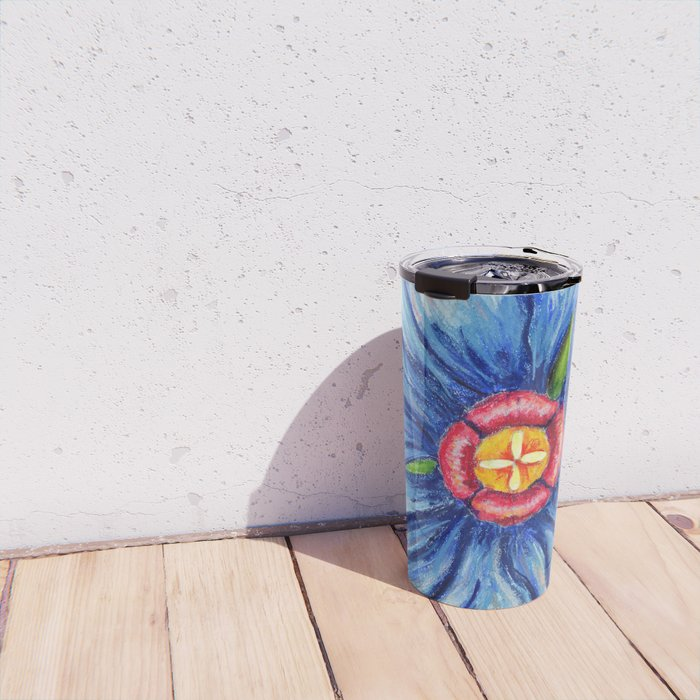 Beaux Arts Blue  Travel Mug