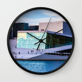 Oslo Opera House Wall Clock