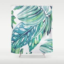 Rising Tropicana Shower Curtain