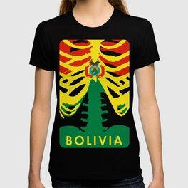 BOLIVIA X-RAYS BLK T-shirt