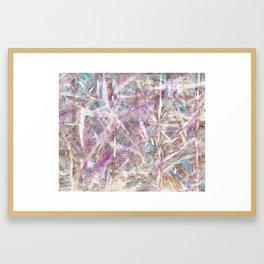 Ultraviolet Light Framed Art Print