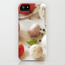 Fresh herbs and Spice for kitchen iPhone Case