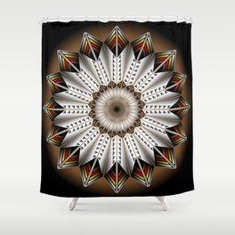 Feather Design Shower Curtain