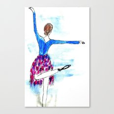 Classic dance Canvas Print