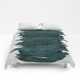 Abstract Minimalism #3 #minimal #ink #decor #art #society6 Comforters