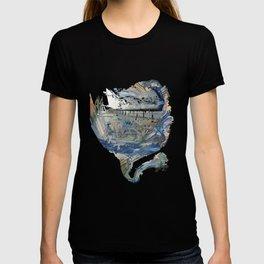 Aquatic Unfolding T-shirt