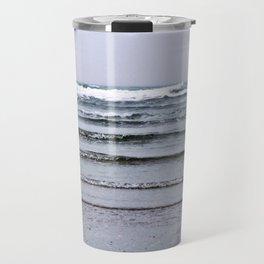 Winter Rippling Waves Travel Mug