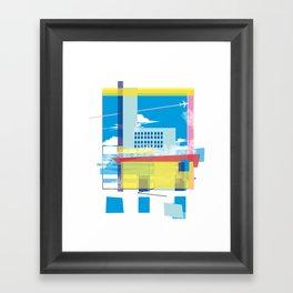 funky town Framed Art Print