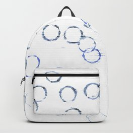 Abstract watercolor Backpack
