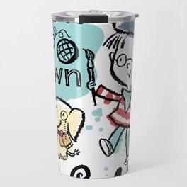 Paint Your Own World Travel Mug