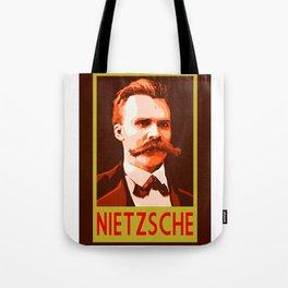 Philosophers of Note - Nietzsche Tote Bag