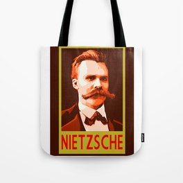Philosophers of Note - Nietzsche Tote Bag