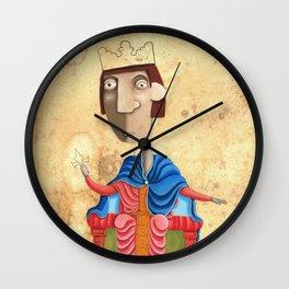 Ritratto di Federico II - L'Epoca di Federico II Wall Clock