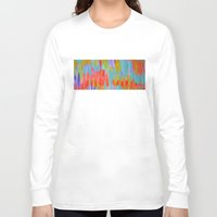 pastel Long Sleeve T-shirts featuring Pastel by Lizzy Koury