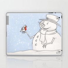 Twigs the Snowman Laptop & iPad Skin