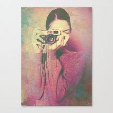 P Women Canvas Print