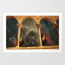 Transición Art Print