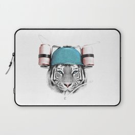 Cool White Tiger Laptop Sleeve