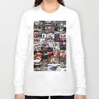 formula 1 Long Sleeve T-shirts featuring Formula 1 Collage by Rassva