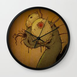 Steven the Snail Wall Clock