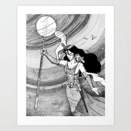 Goddess Revealed Art Print