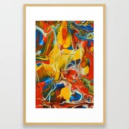 Color Explosion 1 Framed Art Print