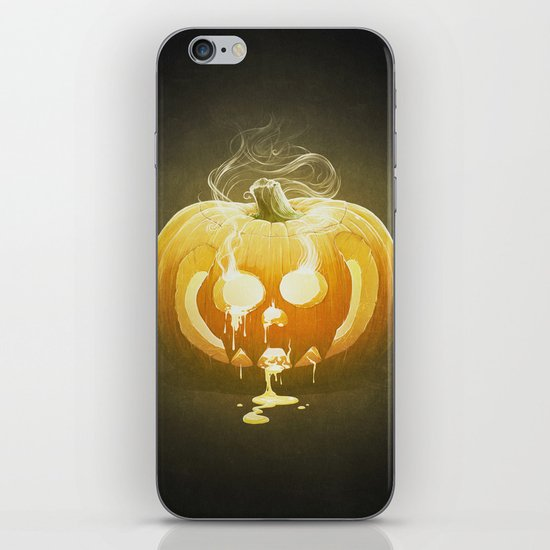 Pumpkin II. iPhone & iPod Skin