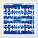 Shibori Tie Dye Indigo Blue by followmeinstead