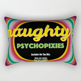 Naughty Psychopixies Rectangular Pillow