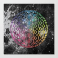 Sacred Geometry Universe 6 Canvas Print