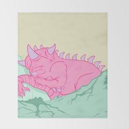 Kaiju Naptime Throw Blanket