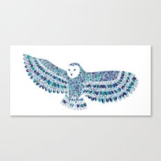 Barn Owl Beaut Canvas Print