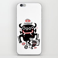 asian iPhone & iPod Skins featuring Asian Demons by Ceskus