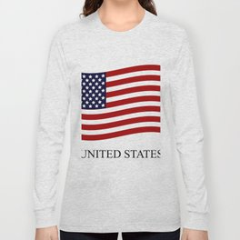 United States flag Long Sleeve T-shirt
