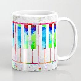 Piano Keyboard Coffee Mug