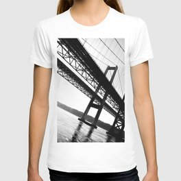 a bridge over troubled waters T-shirt
