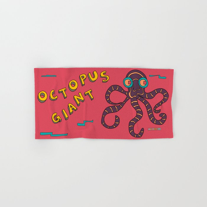 The Giant Octopus Hand & Bath Towel