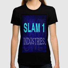 Slam 1 Industries Blue Bones T-shirt