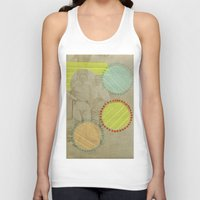 cocktail Tank Tops featuring Fresh Cocktail by Naomi Vona