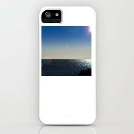 The Mediterranean At Mojacar iPhone Case