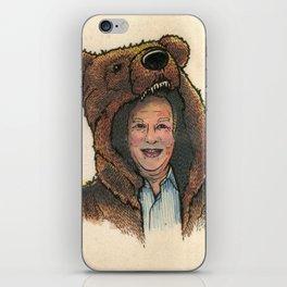 Bear Suit Marc iPhone Skin