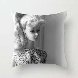 Classic Barbie Throw Pillow