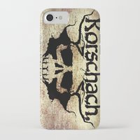 rorschach iPhone & iPod Cases featuring Rorschach by Dominic Mastracchio