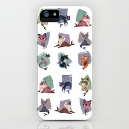 Mercats iPhone Case