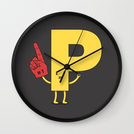 Go Pee! Wall Clock