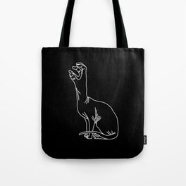 Handy-cat black Tote Bag