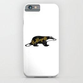 Hufflepuff Badger iPhone Case