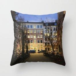 streets of Vesterbro pt.1 Throw Pillow