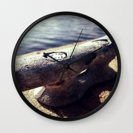 Boat Cleat  Wall Clock