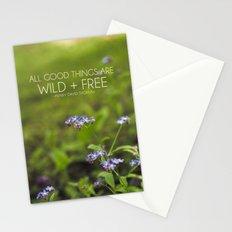wild + free. Stationery Cards